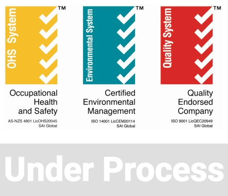 Innovative Piling Quality, OH&S, Environment Management accreditations
