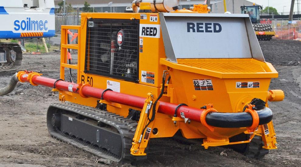 Innovative Piling Equipment Reed Pump B50