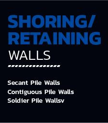 Shoring / Retaining