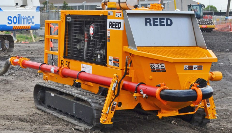 Innovative Piling Equipment Reed Pump B50