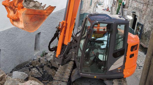 Hitachi Zaxis 85 USB 8 tonne Hydraulic Excavator