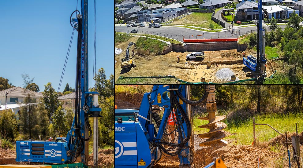 Innovative Piling Project Kellyville